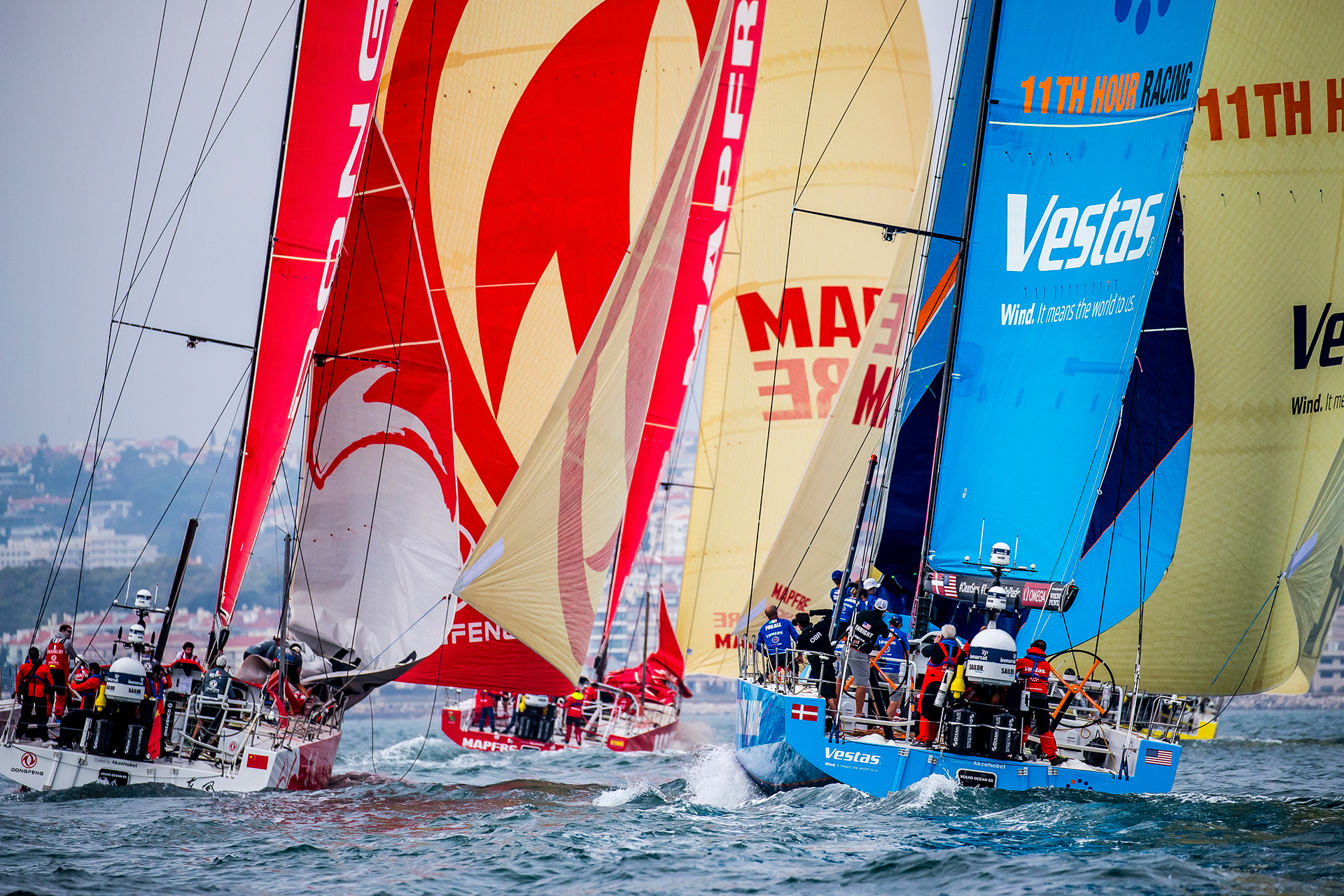 Volvo Ocean Race, Sustainability, Mapfre, Vestas 11th Hour Racing,