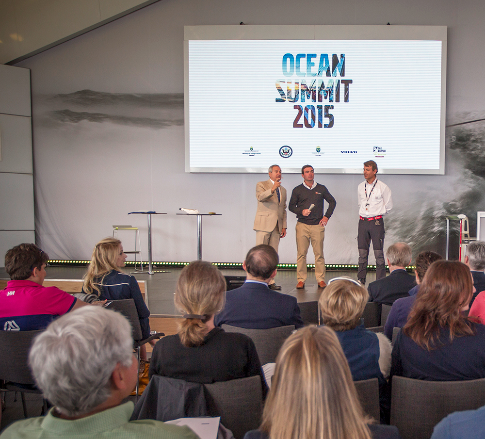 Volvo Ocean Race, Ocean Summit, Charlie Enright