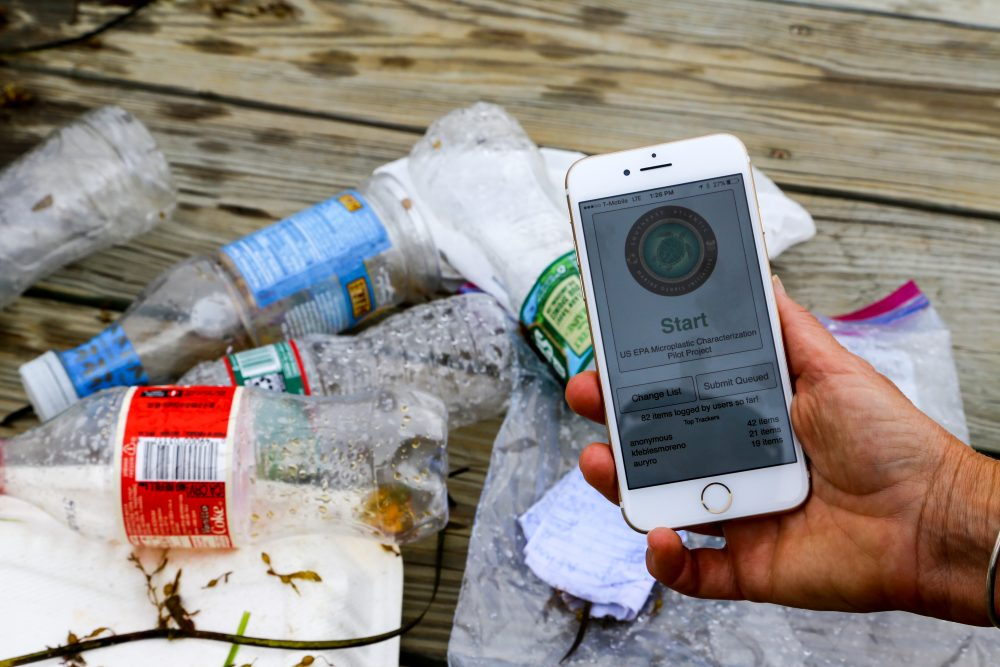 University of Georgia, Marine Debris Tracker App