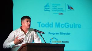 Program Director, Todd McGuire, Youth Worlds, 11th Hour Racing