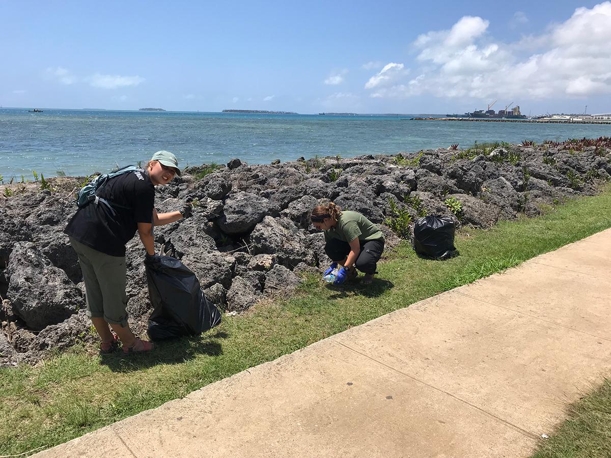 marine debris tracker, sea education association, Pacific islands, plastic pollution, marine debris,