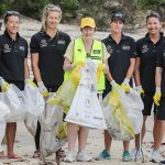 Team Ocean Respect Racing Addresses Marine Debris Issue In Sydney Harbour