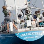 Mudratz sailing on Dreamcatcher