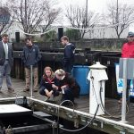 Marina Trash Skimmer, New Bedford, Trash removal from harbor, seabin, plastic pollution removal