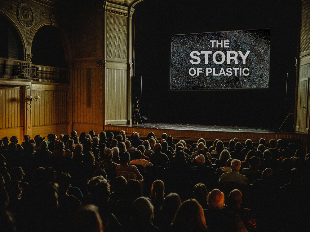 The Story of Plastic screening at Casino Theatre in Newport, RI. Photo credit: Jennifer Manville | newportFILM