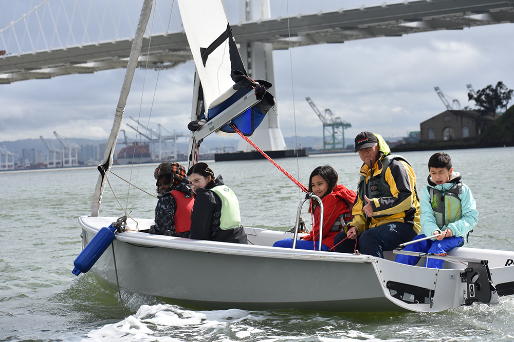 Treasure Island Sailing Center, San Francisco, California, Sailing, Community Sailing, lesson plans, STEM