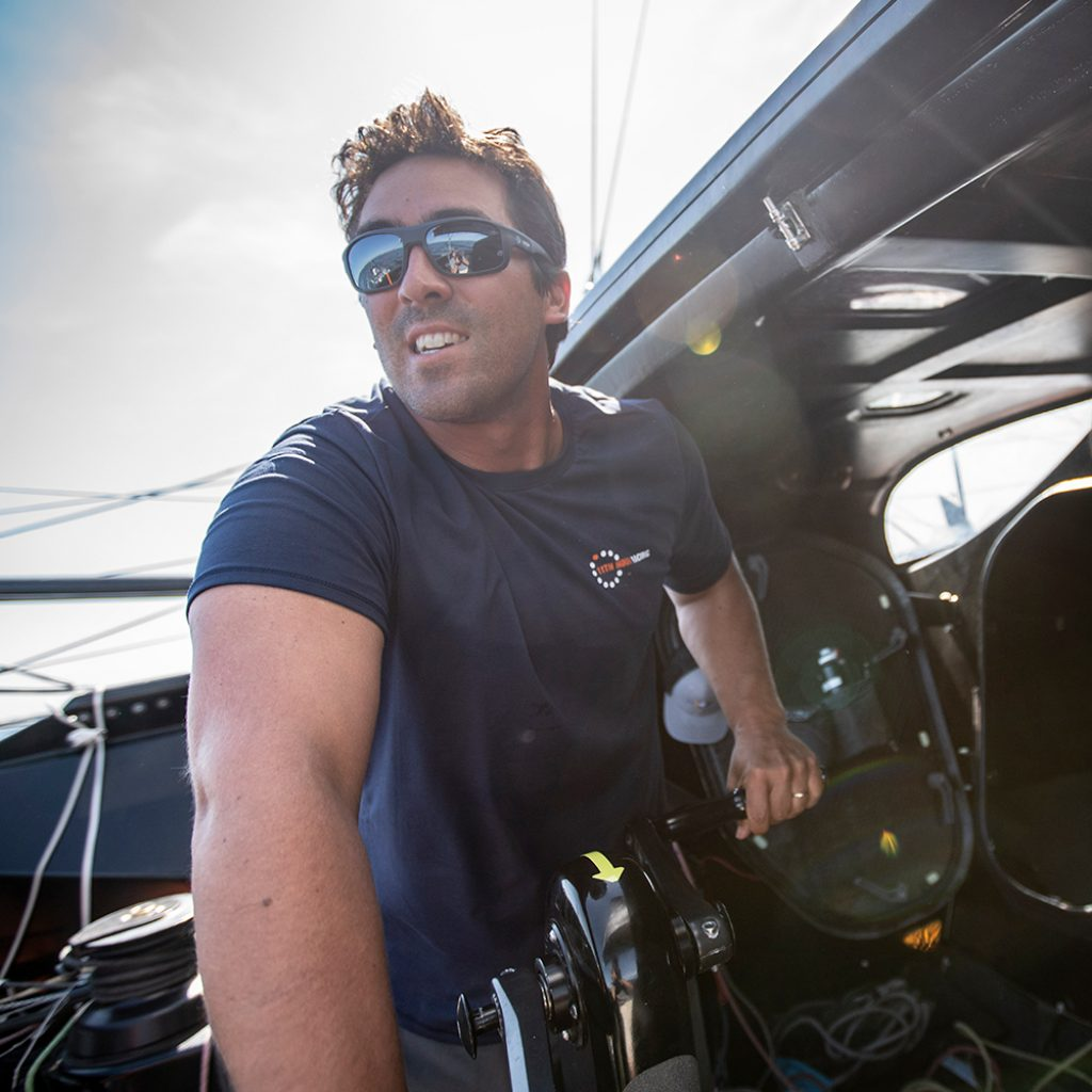 Mark Towill, 11th Hour Racing Team, Imoca 60, sailing