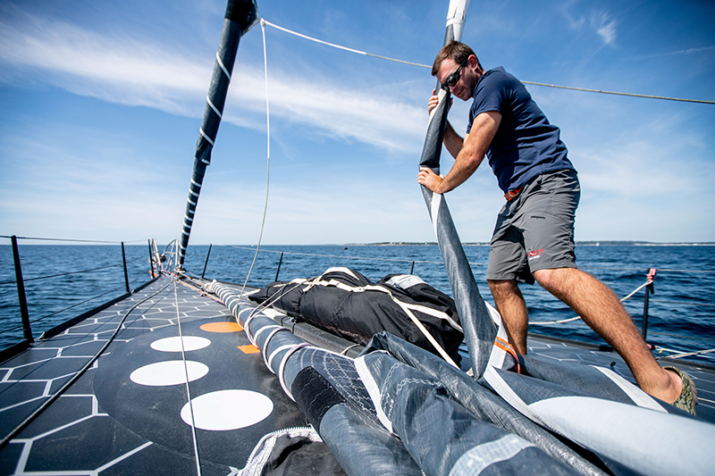 11th Hour Racing Team, Amory Ross, Imoca 60, Sailing Team, France, Foiling, Charlie Enright