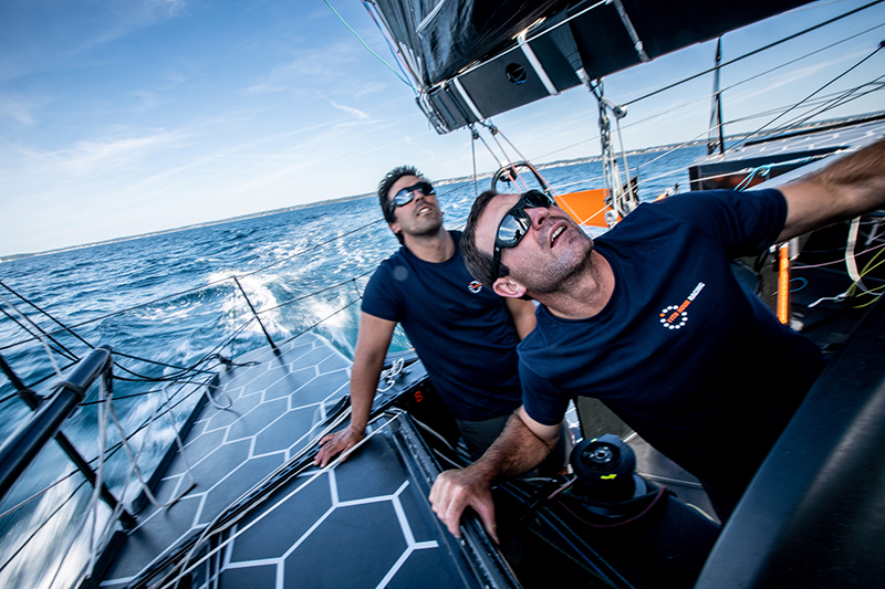 11th Hour Racing Team, Amory Ross, Imoca 60, Sailing Team, France, Foiling, Mark Towill, Charlie Enright