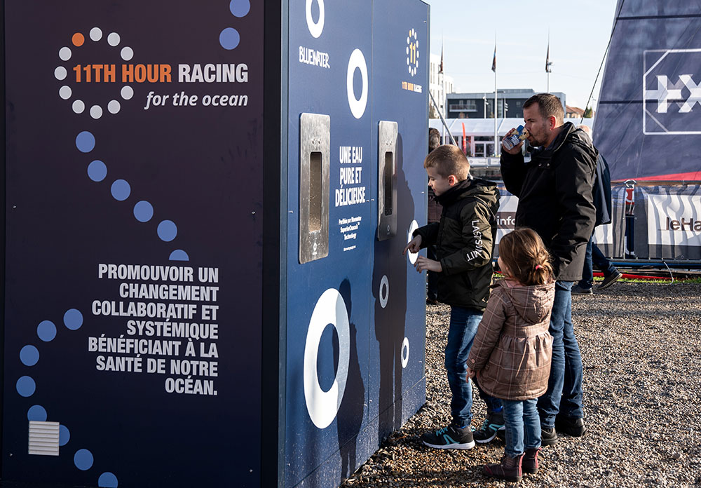 Transat Jaques Vabre, Water Station, Bluewater, Sustainability, Sailing