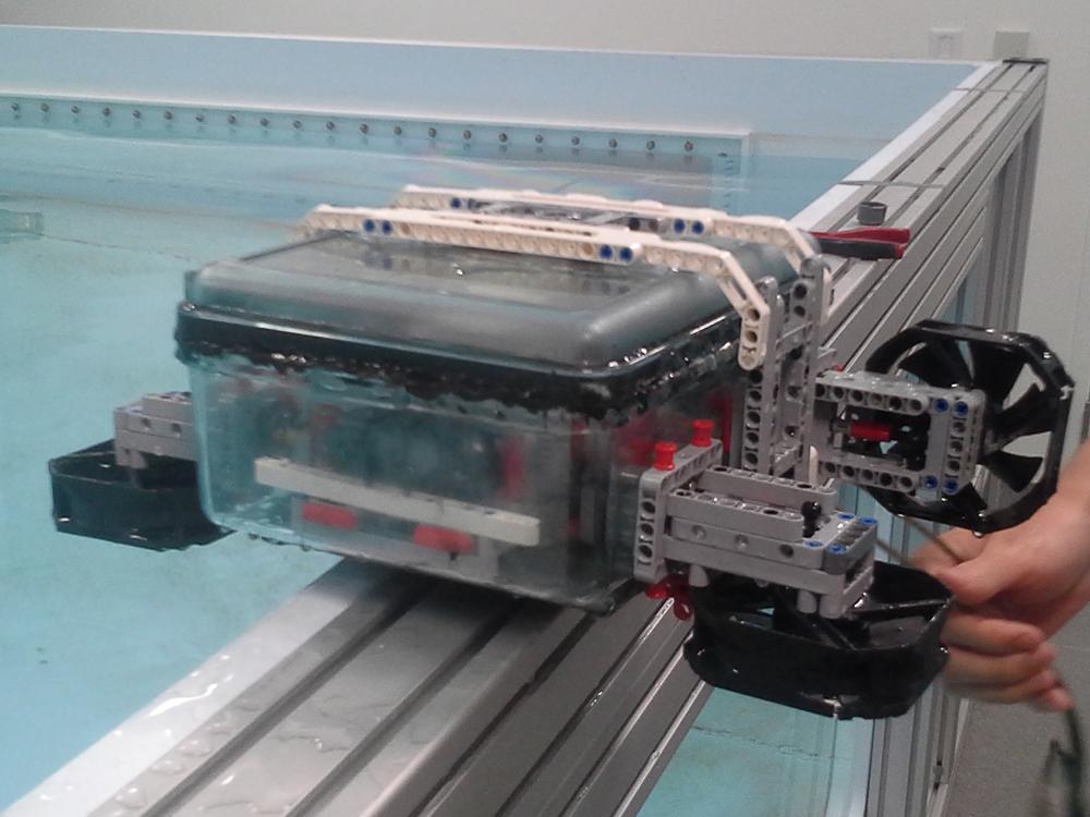 Wayfinder, a LEGO-based underwater robotic vehicle, developed by MIT Media Lab. © MIT Media Lab
