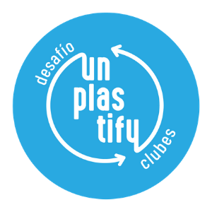 Unplastify logo.