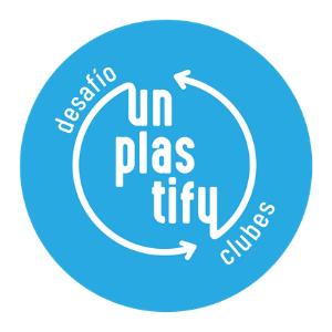 Unplastify logo.