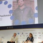 Yacht Racing Forum, sustainability panel, Jeremy Pochman, Dee Caffari, Johan Salen, Thomas Normand