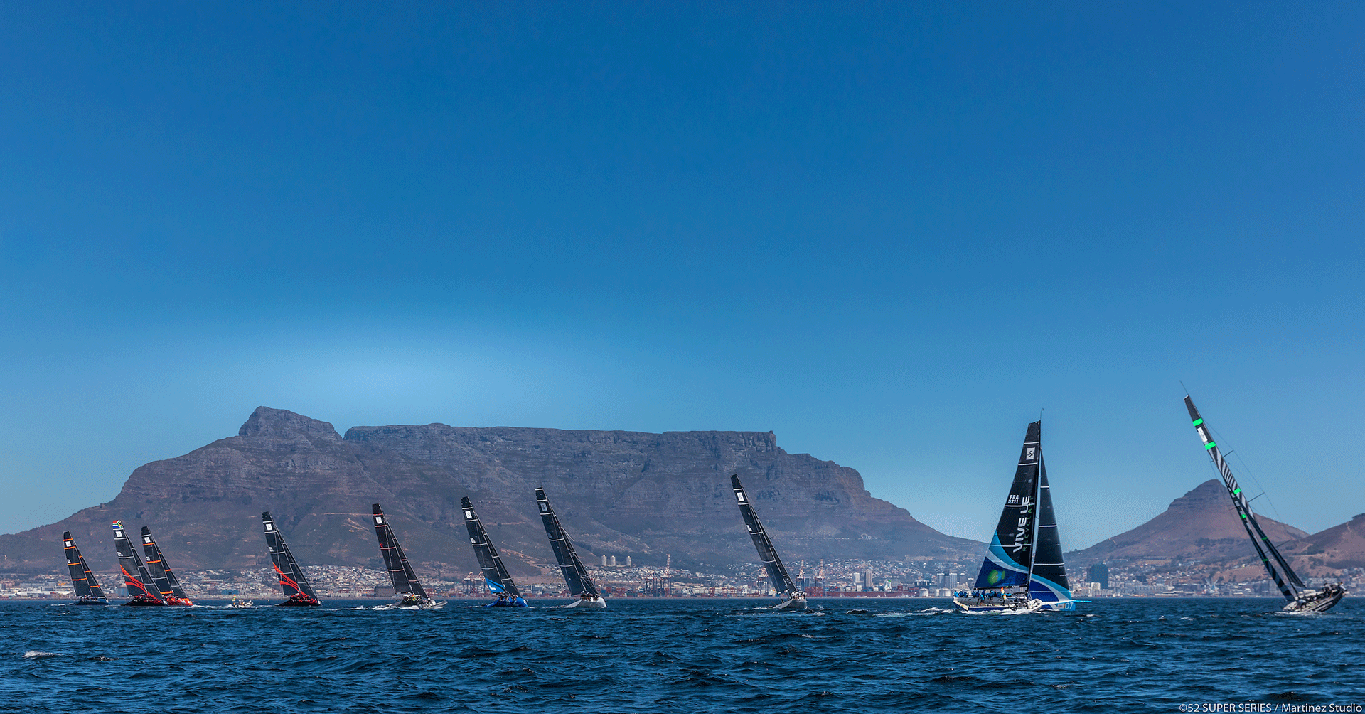 The 52 SUPER SERIES Sets Its 2020 Vision for Sustainability. Credit: Nico Martinez | 52 SUPER SERIES