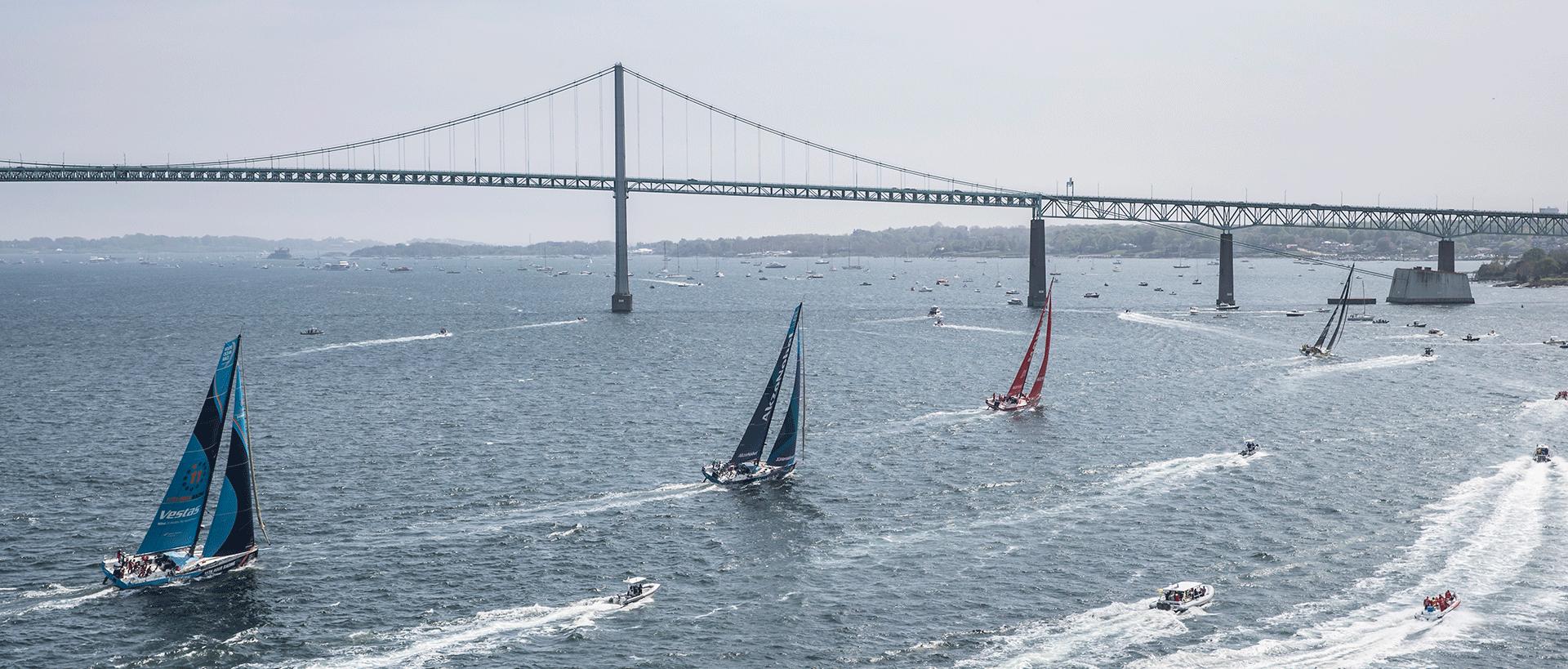 The Ocean Race announces North American stopover in the city of Newport, Rhode Island. Photo credit: Ainhoa Sanchez/Volvo AB