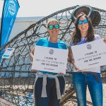 The Final Straw Solent Founder Bianca Carr (left) and Director Lissie Pollard (right) share their pledges for the oceans.