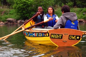 rocking the boat, bronx river, youth development,