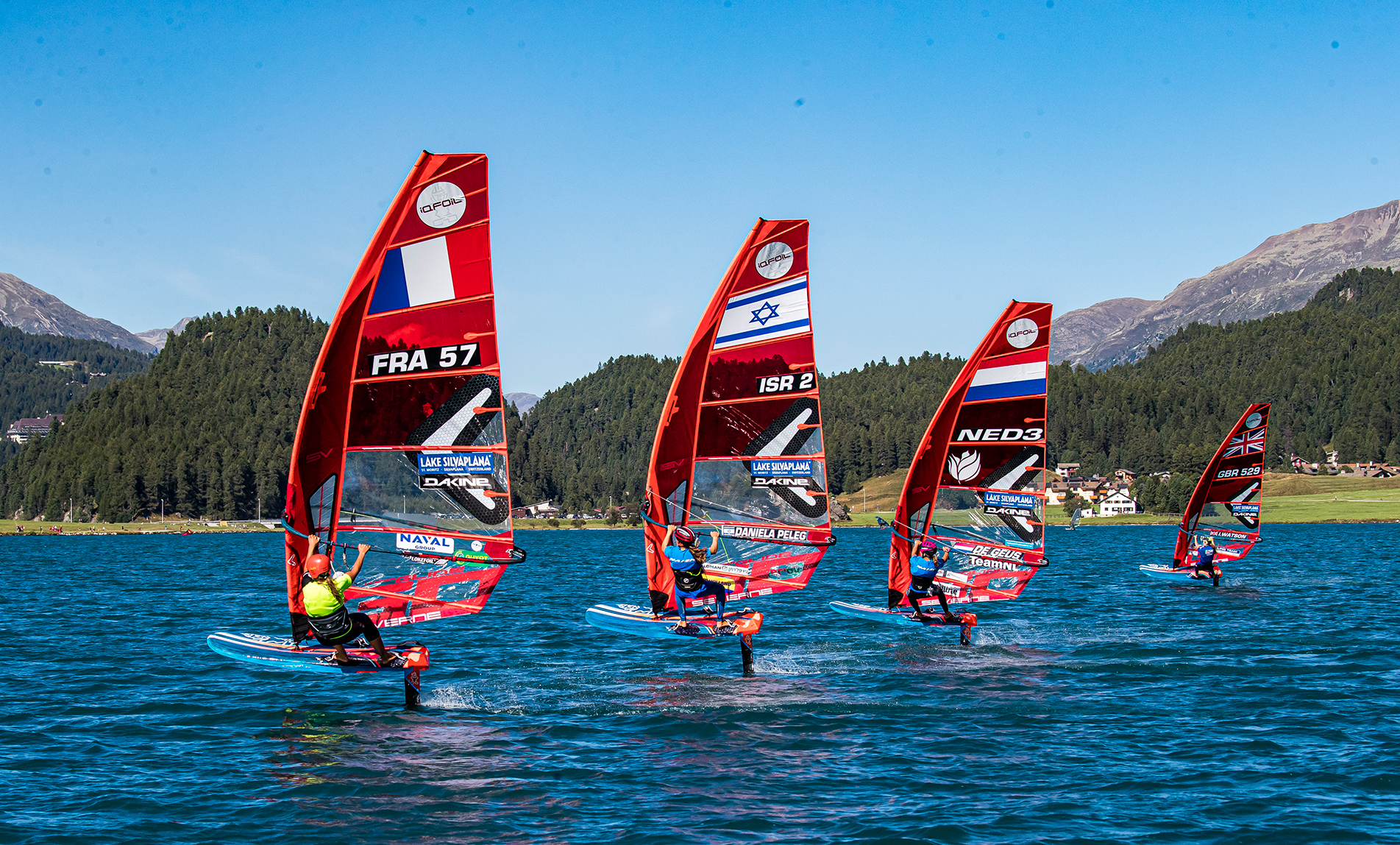 Starboard (THA), the leading manufacturer of Stand Up Paddleboards and windsurf boards, including the iQFOiL, the Paris 2024 Olympic Men's and Women's Windsurfer Equipment, have won the 2020 World Sailing 11th Hour Racing Sustainability Award. Credit: Sailing Energy / Engadinwind 2020