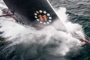 11th Hour Racing Team crosses the North Atlantic en route to Newport, RI, USA. © Amory Ross | 11th Hour Racing