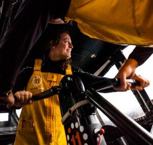 Justine Mettraux, Crew Member, 11th Hour Racing Team