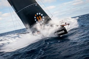 11th Hour Racing Team crossing the North Atlantic. © Amory Ross