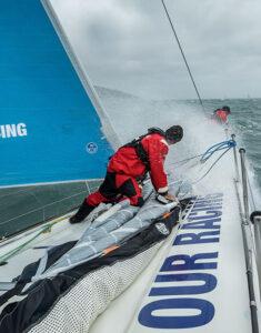2017-18 Volvo Ocean Race Sustainability Report. Photo credit: Martin Keruzoré/Volvo AB