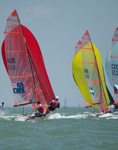 2018 Youth World Sailing Championships, Corpus Cristi. Credit: James Tomlinson
