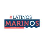 Latinos Marinos, Powered by Azul, logo