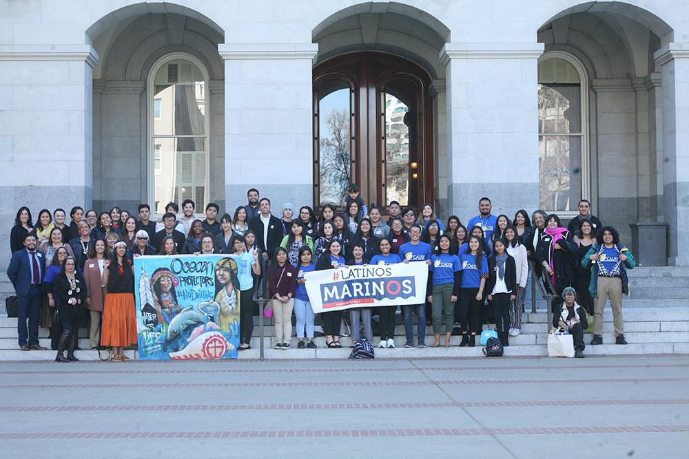Latinos Marinos group. Credit: Azul